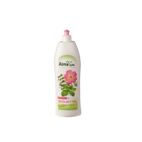 AlmaWin Detergent za pomivanje posode vrtnica in melisa