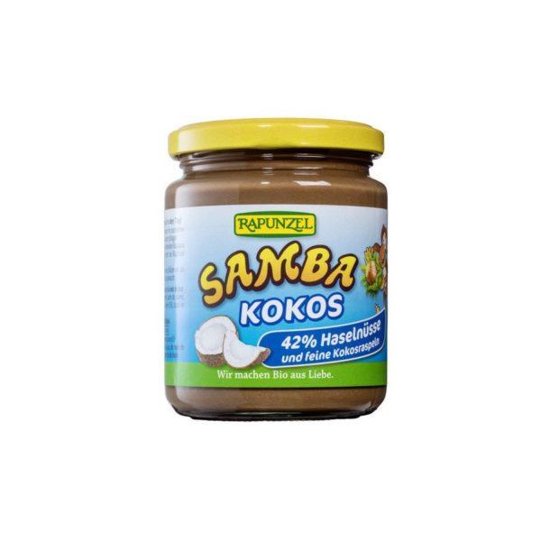 Rapunzel Samba lešnikov namaz kokos