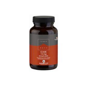 Cink 15 mg, kompleks, 50 kapsul