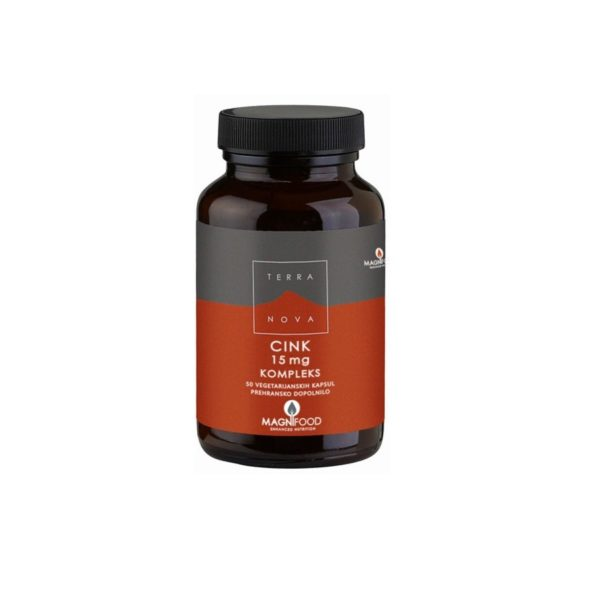 Terranova cink 15 mg kompleks