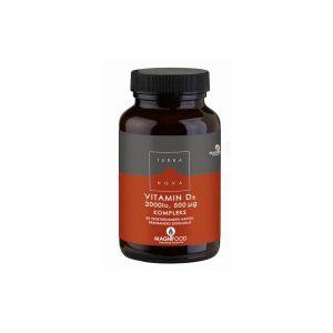 Vitamin D3 50µg, kompleks, 50 kapsul