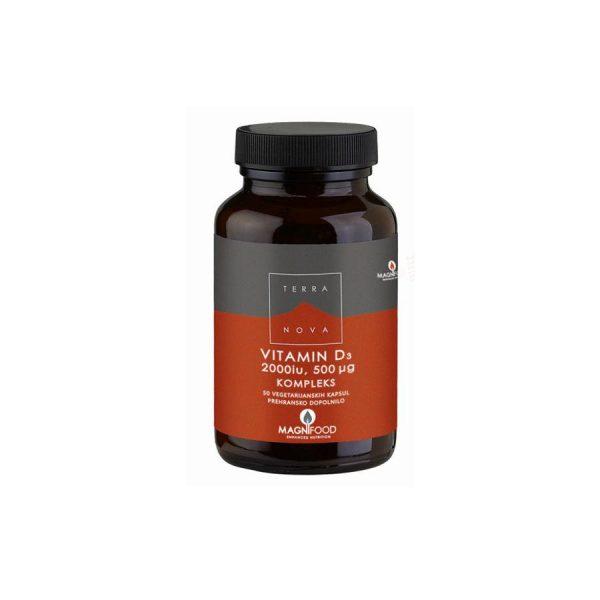 Terranova Vitamin D3 50µg kompleks