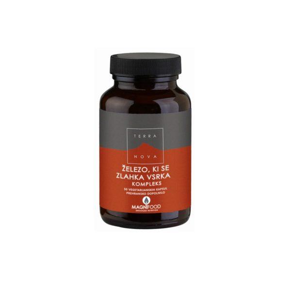 Terranova železo, ki se zlahka vsrka 20 mg kompleks