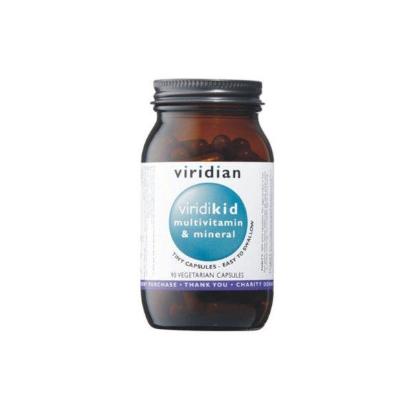 Viridian Viridikid multivitamini in minerali za otroke