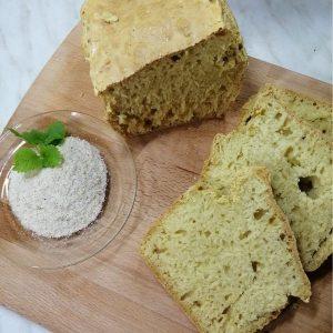 Kruh iz pirine moke brez kvasa