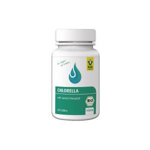 Ekološka alga Chlorella Raab 200 tablet