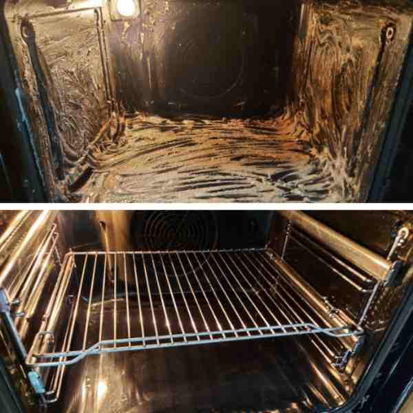 Čiščenje pečice s sodo bikarbono [In kisom]