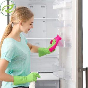 Čiščenje hladilnika [s preprostimi sredstvi]