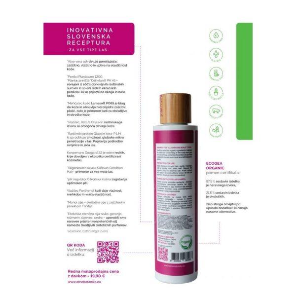 Šampon Harmony uporaba