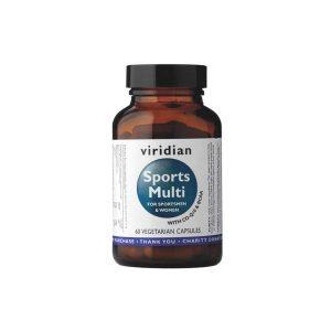 Viridian Športni multivitamini in minerali 60 kapsul