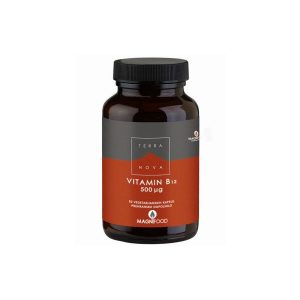 Vitamin B12 500μg, metilkobalamin, kompleks 50 kapsul