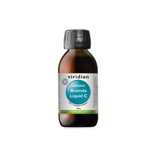 Viridian Ekološka acerola tekoči vitamin C